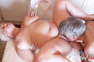 AgedLovE - Mature BBW Fingered and Fucked Real Hard