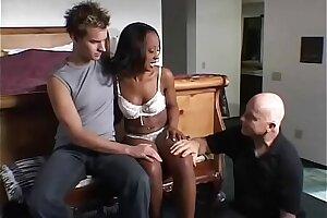 Ebony British MILF Swinger Sex