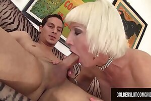 Hard to Believe Suck and Fuck Crazed Older Babe Dalny Marga Is a Grandma
