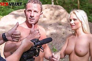 VIP SEX VAULT - Porn Agent Fucks His Sexy Girl In The Woods (Rossella Visconti & David Perry)