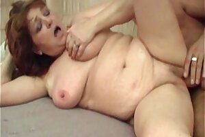 Busty Hot Mama Pussy Stuffed With Young Cock