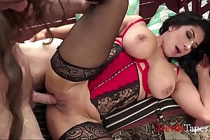 Forbidden Squirting Fruit: Busty MILF Fucks Muscular Gardener