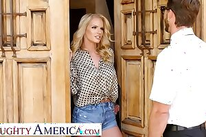 Naughty America - Rachael Cavalli fucks a virgin friend of her son