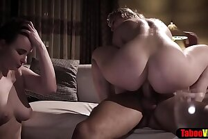 Shy MILF housewife learning fuck from an anal queen